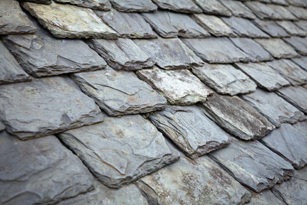 slate roofing placed by our roofer in wigan
